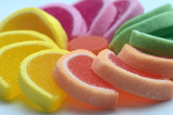 colorful vegan jelly gummies candy-Hydrocolloids Supplier Manufacturer in China