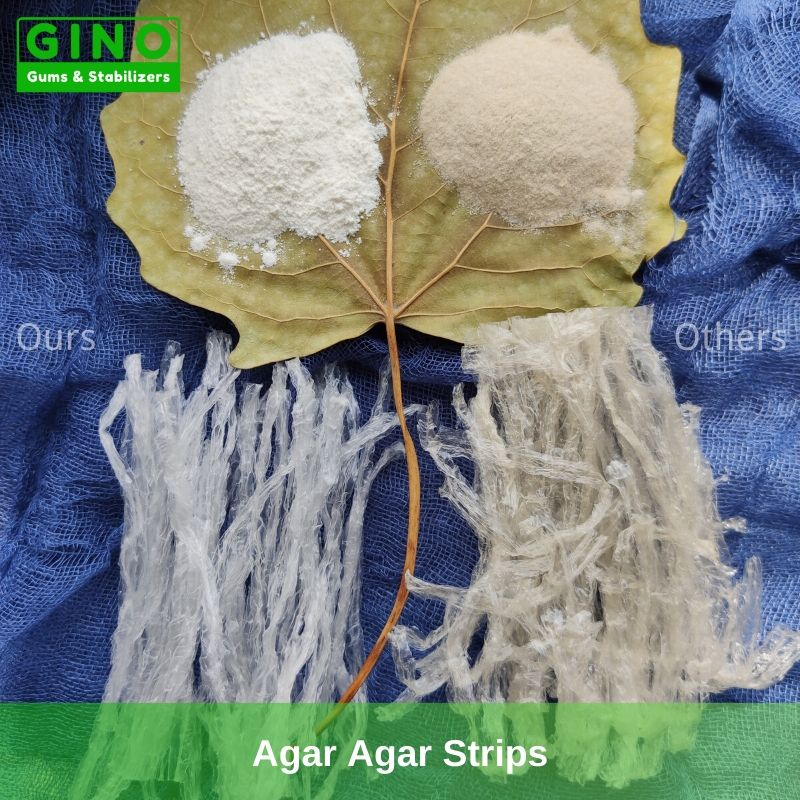Agar Agar Strips 2020 Supplier Manufacturer in China (6) - Gino Gums Stabilizers