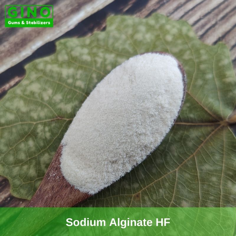 sodium alginate food grade supplier - Gino Gums Stabilizers