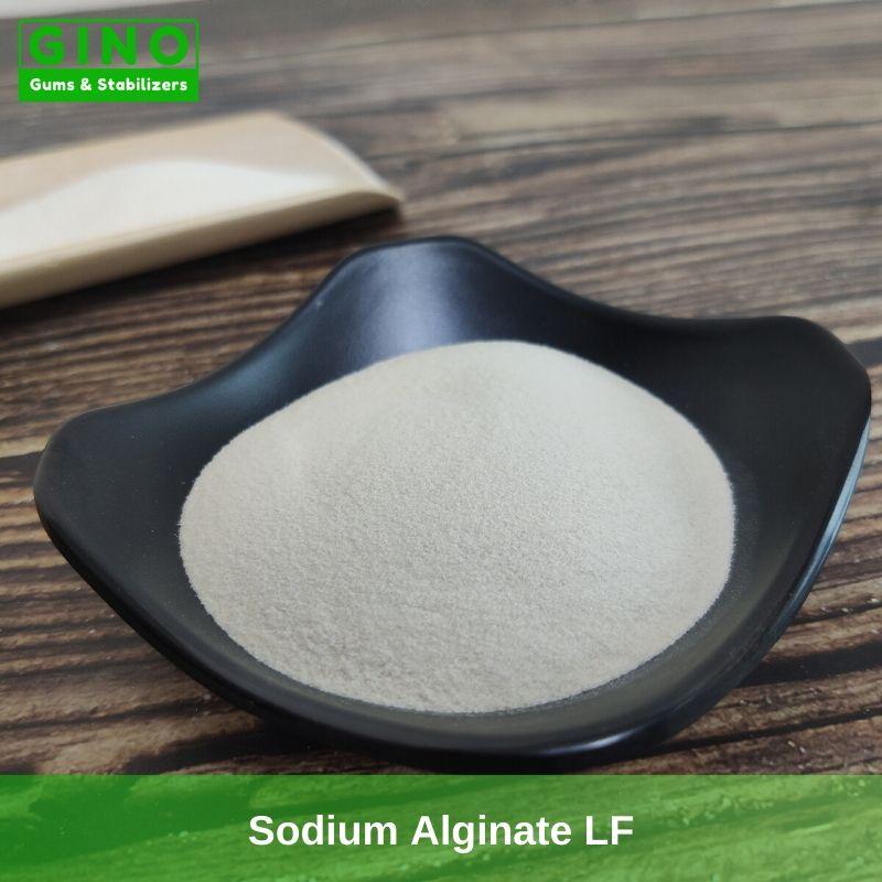 Sodium Alginate LF Supplier Manufacturer in China(2) - Gino Gums Stabilizers