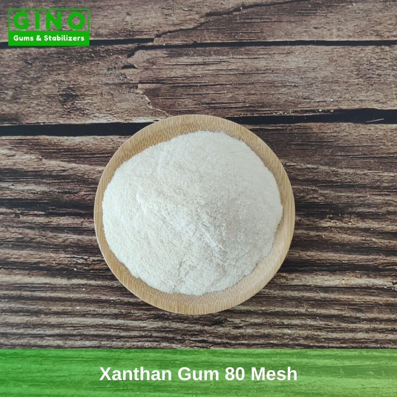 Xanthan Gum 80 Mesh Supplier Manufacturer in China (2) - Gino Gums Stabilizers