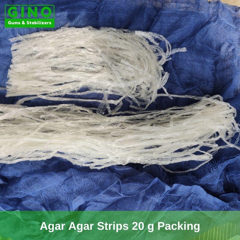 Agar Agar Strips 20 G supplier manufacturer in China