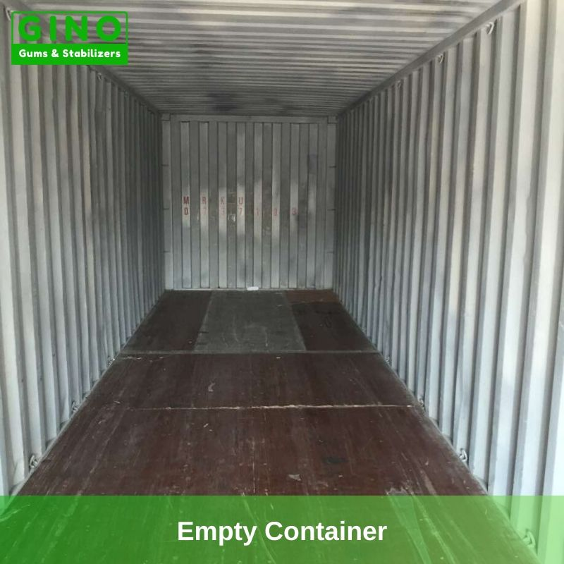 Empty Container with good and clean condition