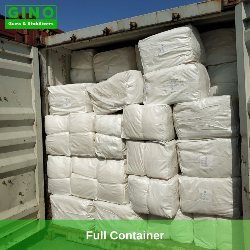 All of the agar agar strips have been loaded