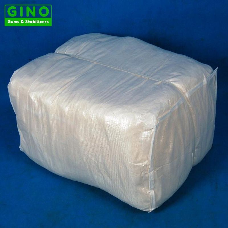 Agar Agar Strips with Small Bags will packed in one big PP woven bags