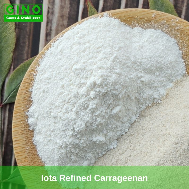 White Iota Refined Carrageenan Supplier Manufacturers in China