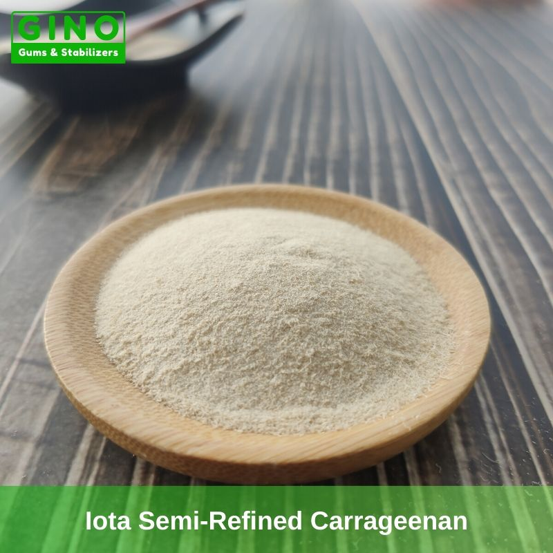 Yellowish Semi-Refined Iota Carrageenan Supplier Manufacturers in China