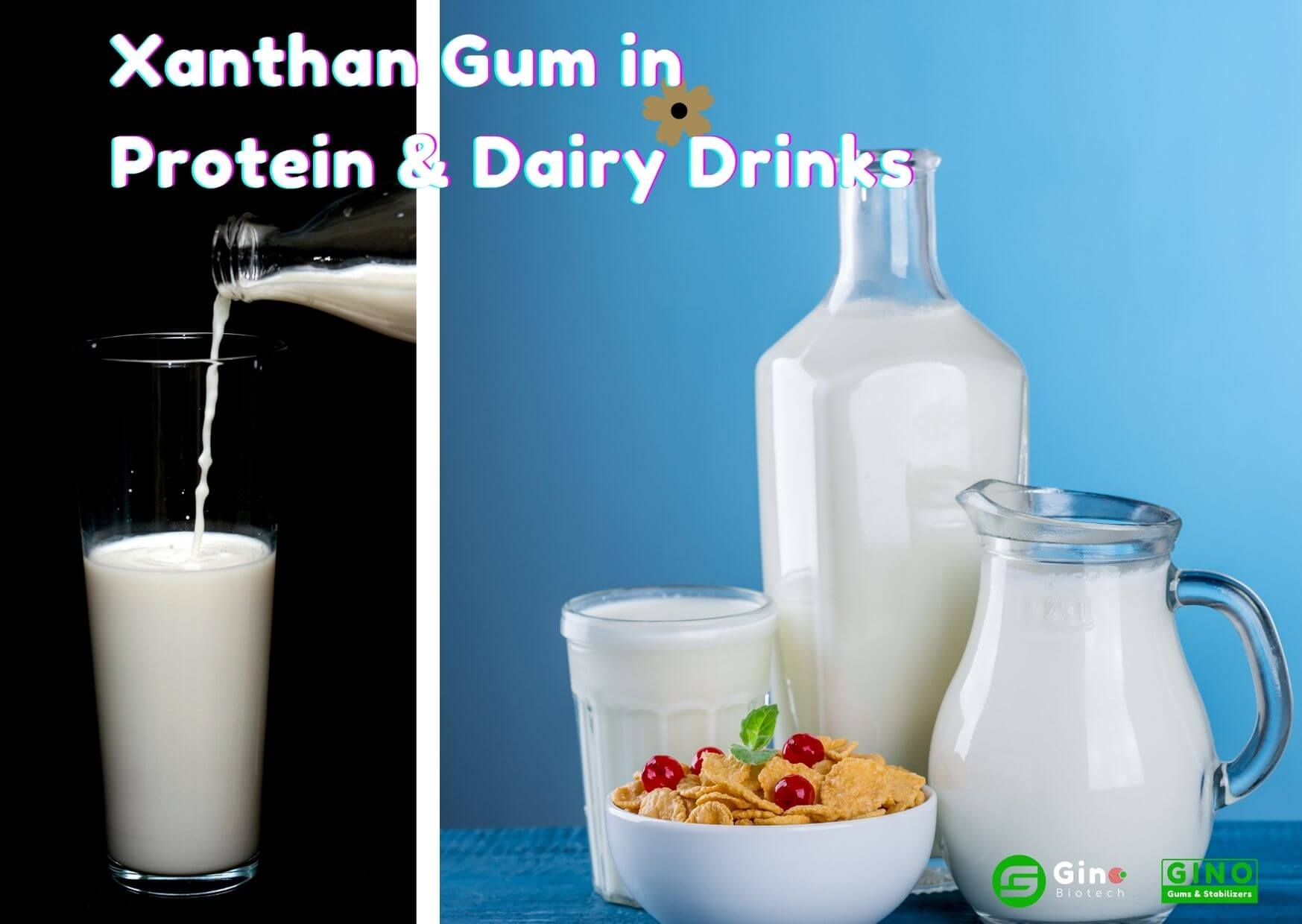 xanthan gum in drinks