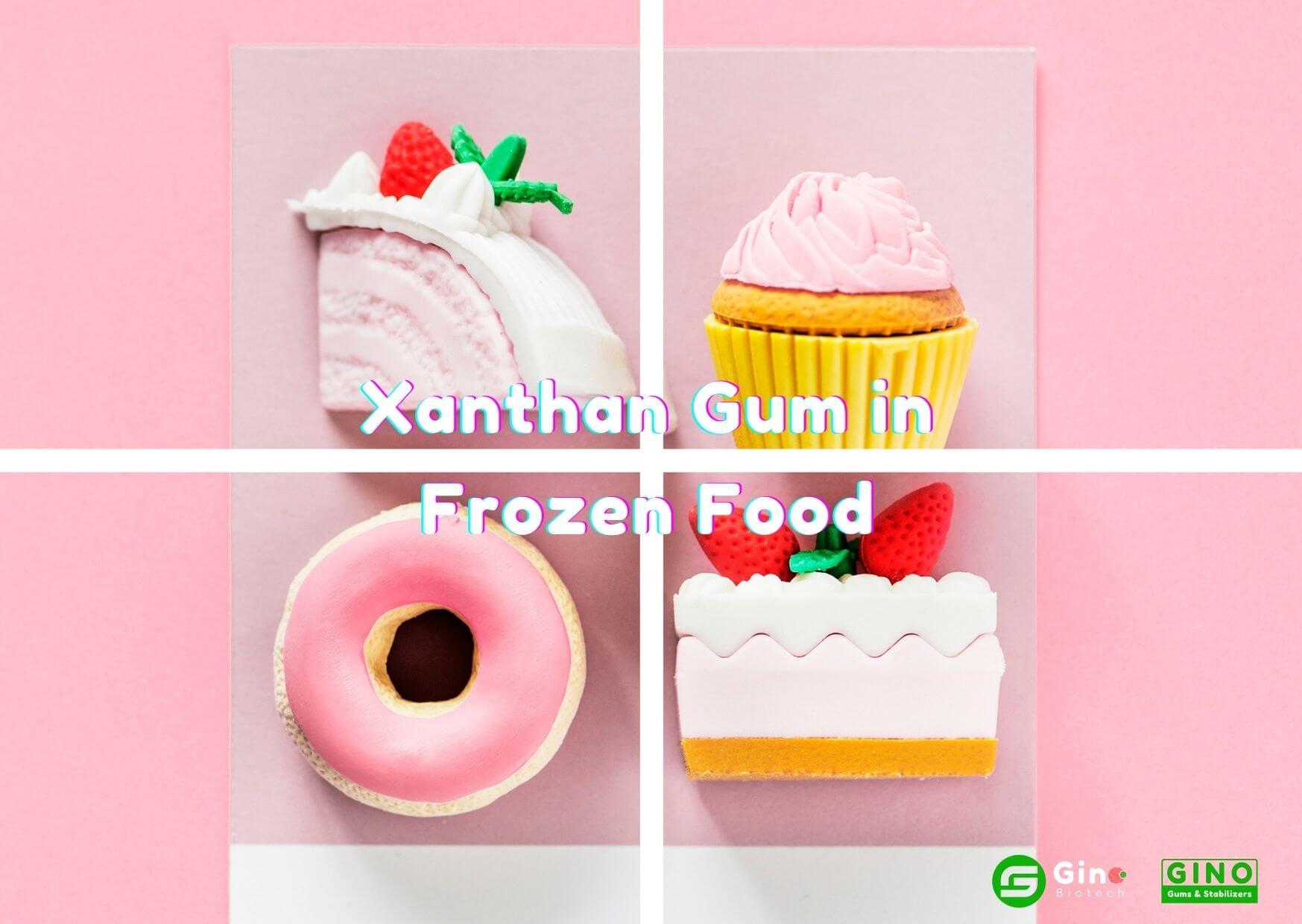 xanthan gum in ice cream