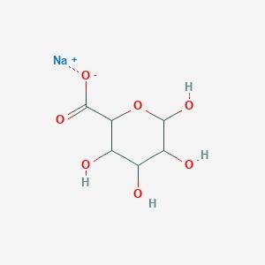 Sodium Alginate Structure_Chemical Structure Depiction